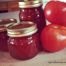 "Spiced Tomato Jam ~ Moms ""Secret"" Recipe"
