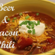 Beer & Bacon Chili