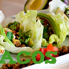 three in three: raw vegan tacos