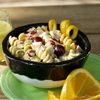 Citrus Pasta Salad with Grapes & Red Walnuts