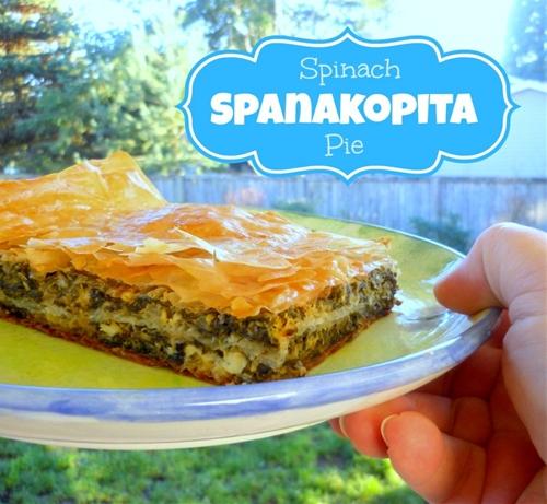 Light & Easy Spanakopita