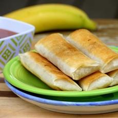 Banana Lumpia {Filipino Turon}
