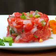 "Hawaiian ""Lomi Lomi"" Salmon"