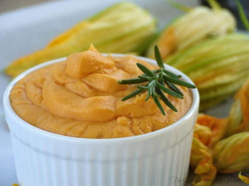 Sweet Potatoes with Marscarpone & Fresh Rosemary Browned Butter