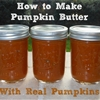 How to Make Pumpkin Butter - with Real Pumpkins!