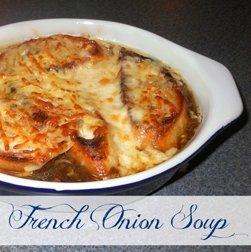 Simply, French Onion Soup