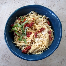 10-Minute Meal: Sun-dried Tomato Carbonara