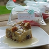 Cranberry & White Chocolate Bread Pudding