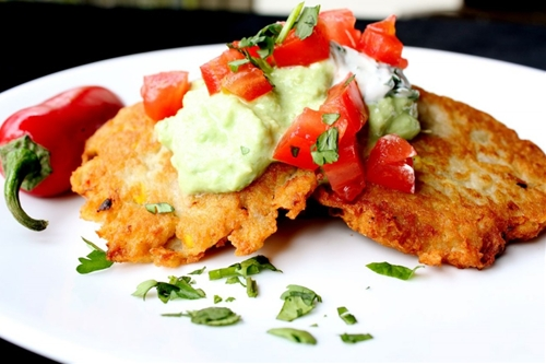 Mexican potato latkes