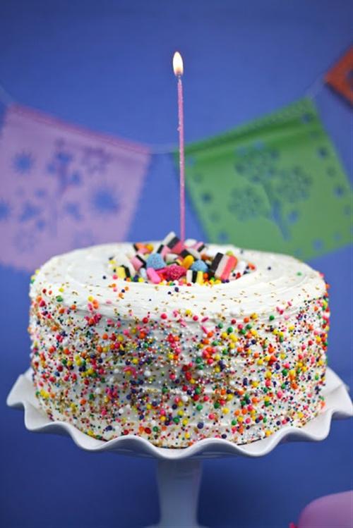 Sprinkle Bakes Sprinkle Cake