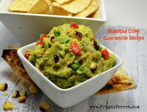 Roasted Corn Guacamole Recipe - The Best Yet!