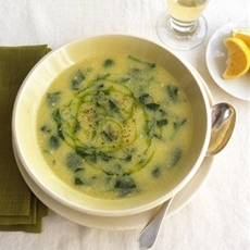 Polenta and Spinach Soup