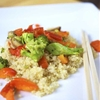 Clean Eating Vegetable Quinoa Stir Fry