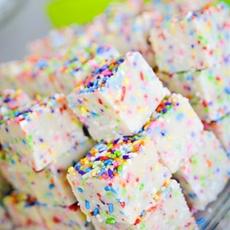 Cake Batter & Sprinkles Fudge