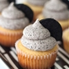 Oreo Cupcakes with Oreo Buttercream