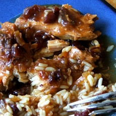 Delicious crock pot chicken