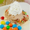 M&Ms® Crispy Ice Cream Eggs