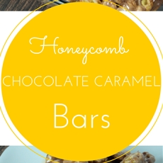 Honeycomb Chocolate Caramel Bars