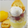 Limoncello Meringue Cookie Lemon Parfait
