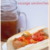 Easy Crockpot Sausage Sandwiches