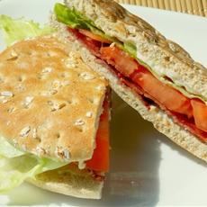 Healthy BLT Sandwich