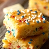 White Chocolate Firecracker Brownies
