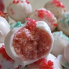 Strawberry Firecracker Cake Balls