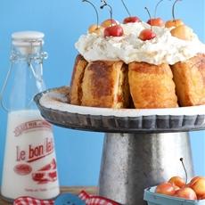 French Toasted Angel Food Cake