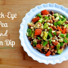 Black Eyed Pea and Corn Dip