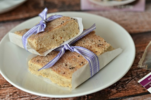 bombay chai shortbread cookies