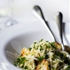 Tagliolini Pasta with Caramelized Cauliflower & Hazelnut Pesto