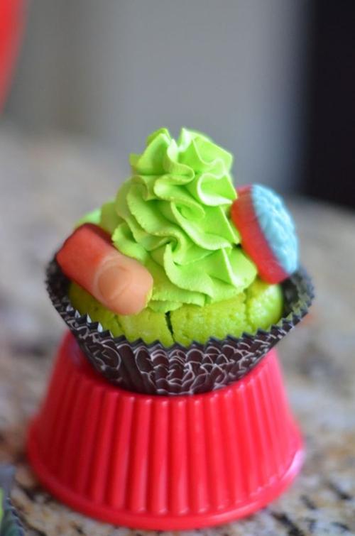 Body Part Cupcakes