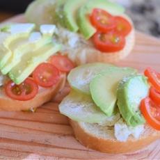 Mini Open Faced Sandwiches