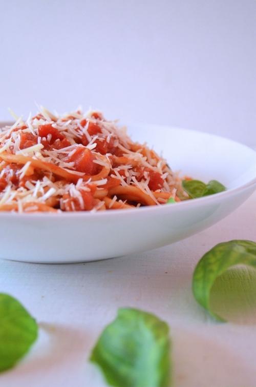 Spaghetti AllAmatriciana