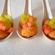 Shrimp Peperoncini Appetizer & A Gorton