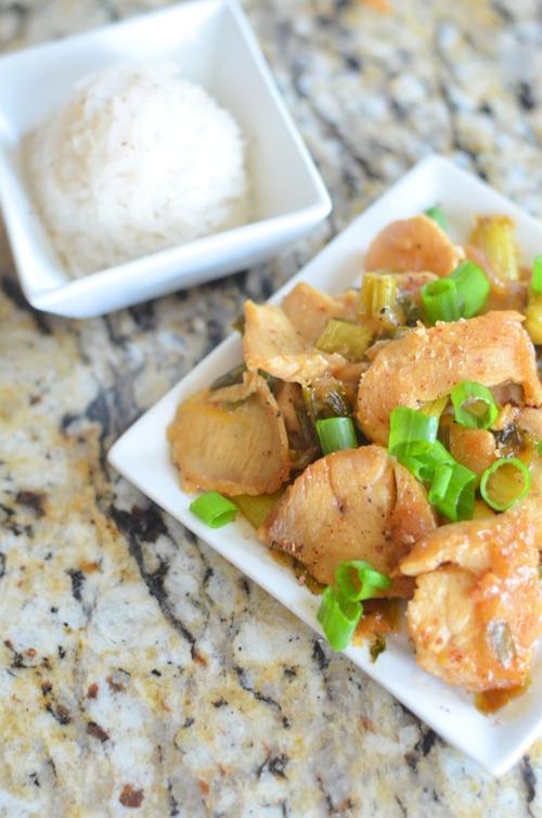 Lemon Ginger Chicken by Mooshu Jenne