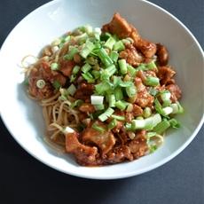 Chili Chicken & Peanut Noodles