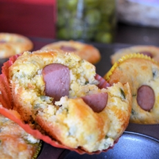 Jalapeno Cheese Corn Dog BItes
