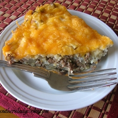 Cheesy Hamburger Pie