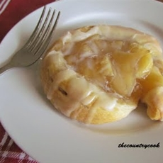 The Country Cook: Easy Apple Danish
