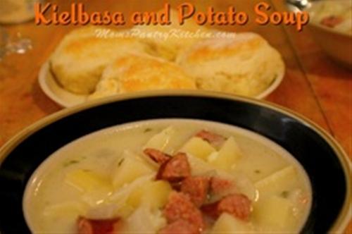 Kielbasa and Potato Soup - Mom