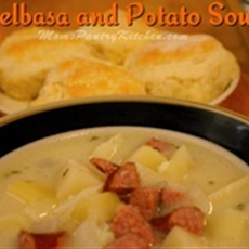 Kielbasa and Potato Soup - Mom