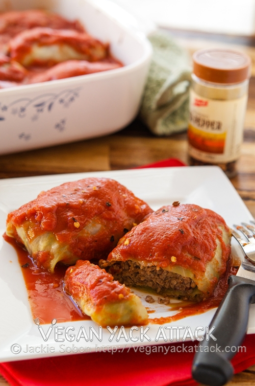 Golabkis, Polish Stuffed Cabbage