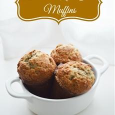 Banana Nut Chai Muffins