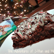 Holiday Mint Brownies