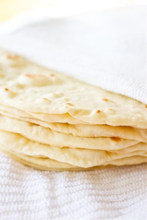DIY: Soft Flour Tortillas
