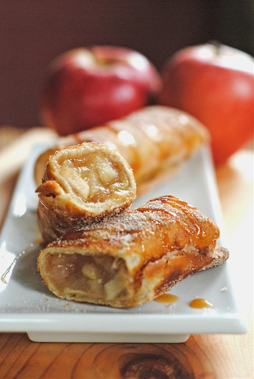 Apple Cinnamon Dessert Chimichangas