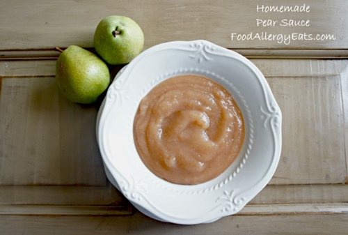 Slow Cooker Homemade Pear Sauce