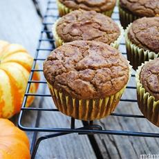 Gluten-Free Pumpkin Pie Muffins Recipe from Sweet Debbies