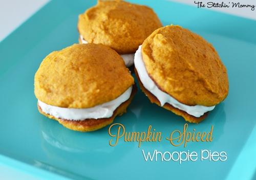 Pumpkin Spiced Whoopie Pies